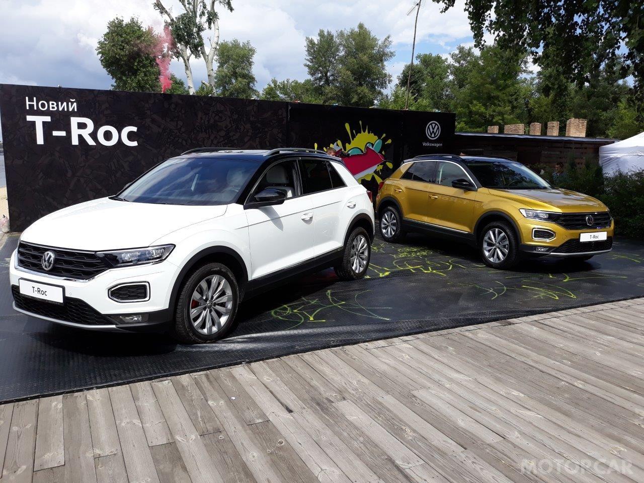 Презентація VW T-Roc