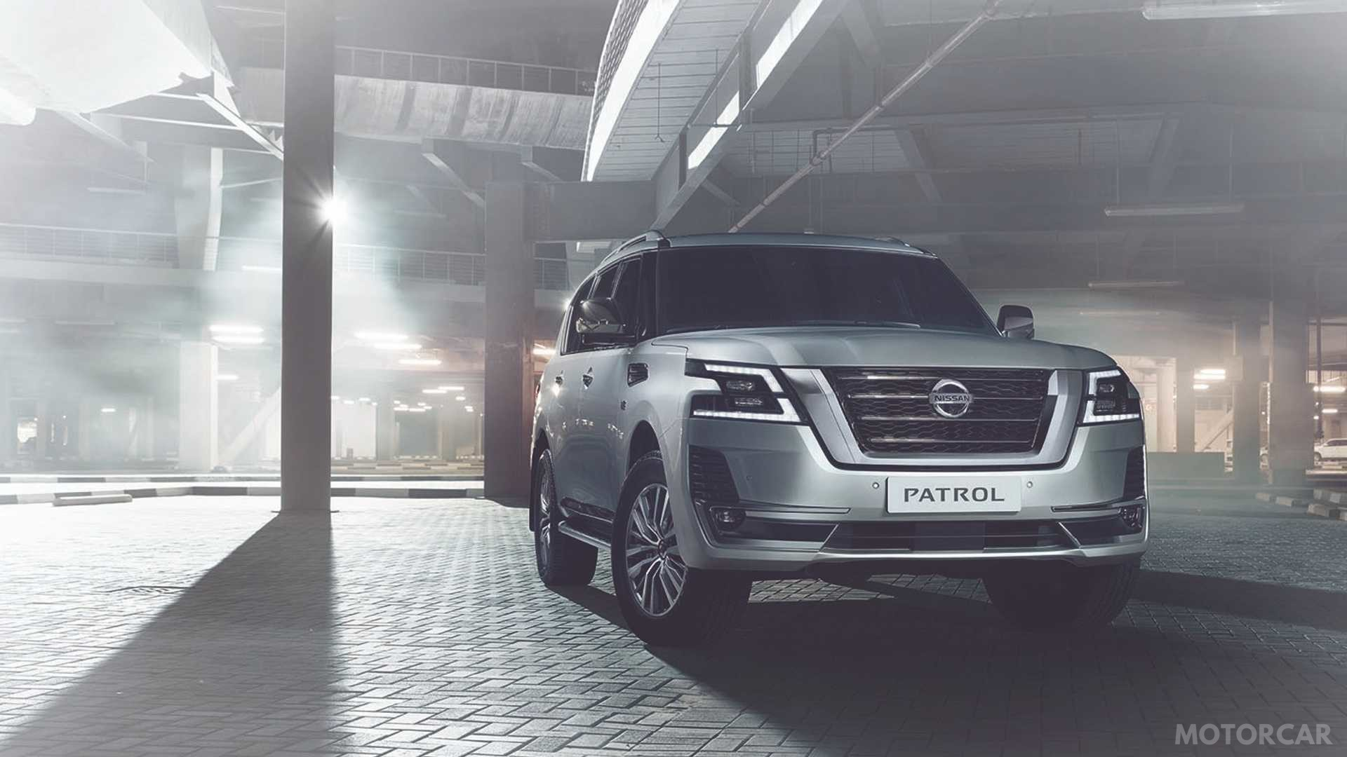 Оновлений Nissan позашляховик Patrol