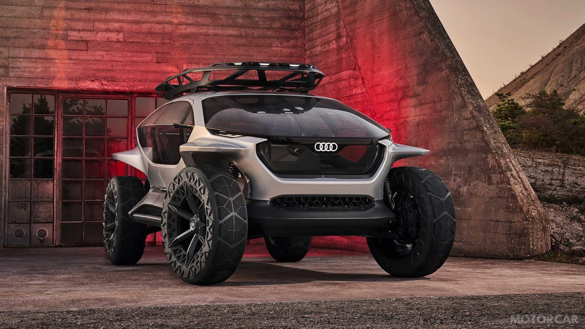 Футуристичний Audi AI: Trail