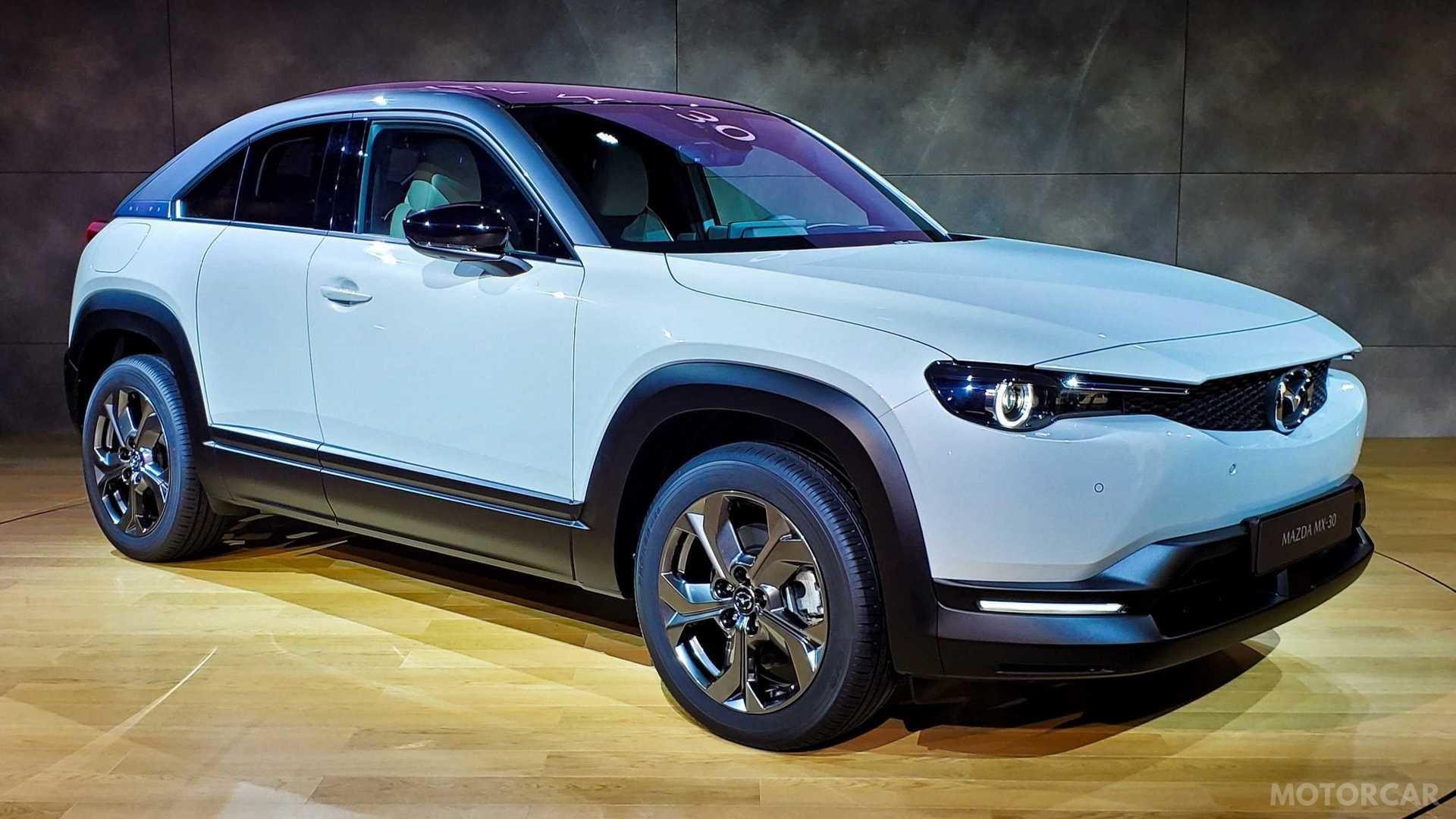 Галерея: Елегантний електрокросовер Mazda МХ-30
